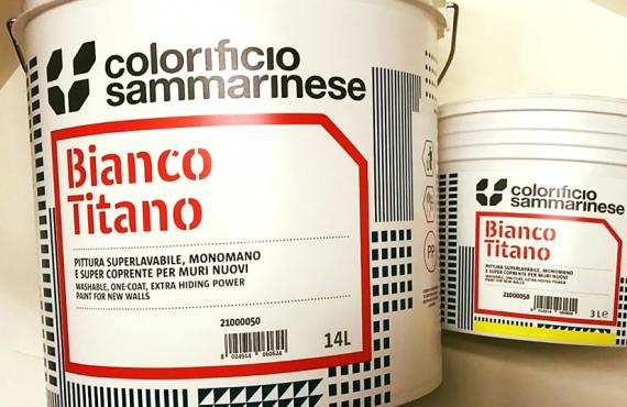 Bianco Titano - Colorificio Sammarinese